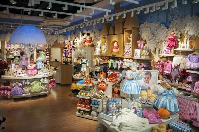Clothes stores. Store for baby clothes